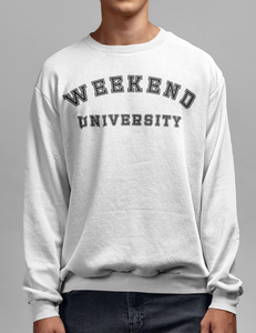 Weekend University Crewneck Sweatshirt - OniTakai