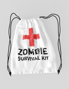 Zombie Survival Kit | Drawstring Bag