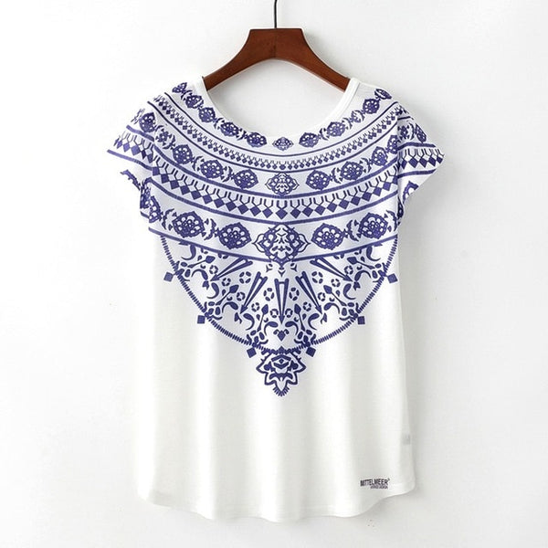 Women's Novelty Printed T-Shirt