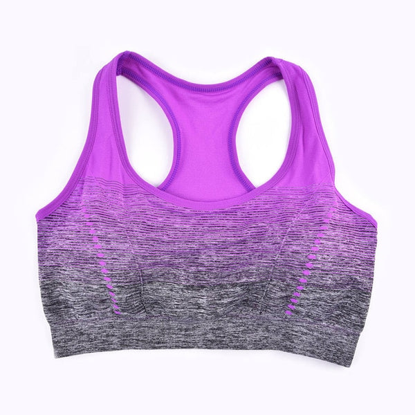 Women's Violet High Stretch Breathable Fitness Bra