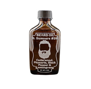B. Sumners #26 Beard Oil