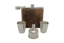 Load image into Gallery viewer, Personalized Flask Gift Set