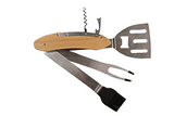 Personalized 5-in-1 Engraved BBQ Tool