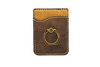 Personalized Phone Wallet with Gold Ring
