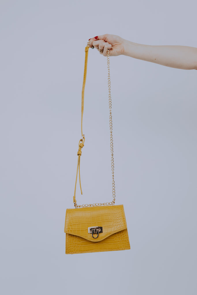 Bodak Yellow Croc Bag
