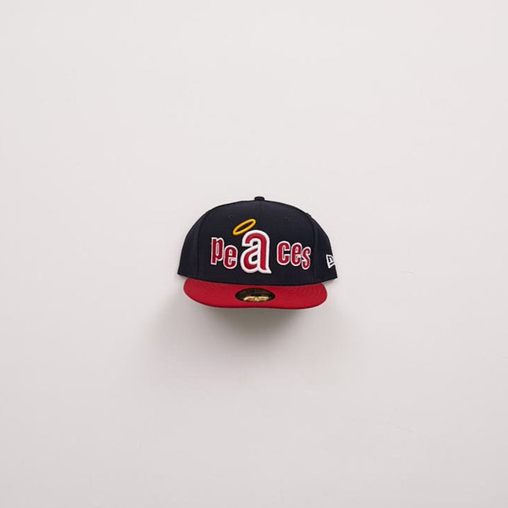 Peaces Retro Fitted Hat