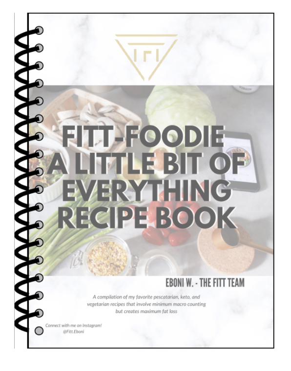 FITT Foodie Recipe Physical book - A Little Bit Of Everything