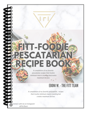 FITT Foodie Recipe Physical book - Pescatarian - The FITT Collection