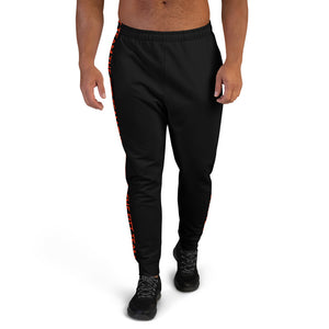 Red on Black Men's Joggers