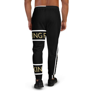 Fitt King Black Joggers