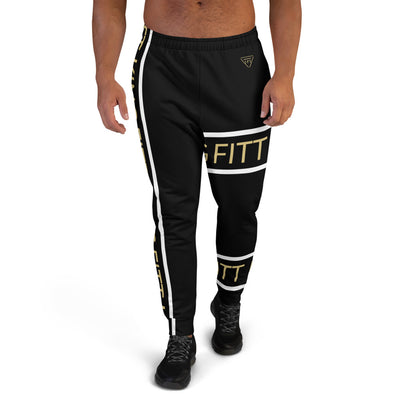 Fitt King Black Joggers - The FITT Collection