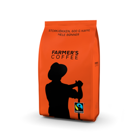 Farmer's Coffee - Hele bønner - 250g