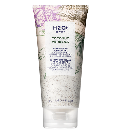 Coconut Verbena Foaming Body Exfoliator