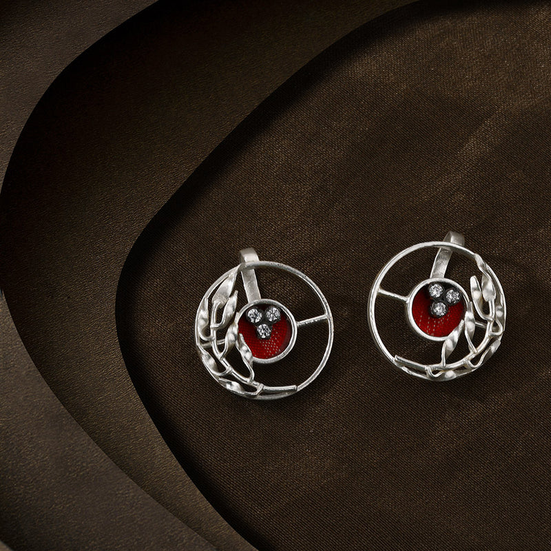 Terra Rossa ear buttons