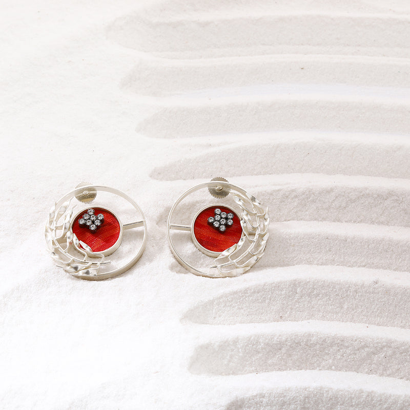 Terra rossa earrings