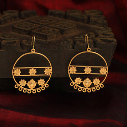 Captivating celebration earring