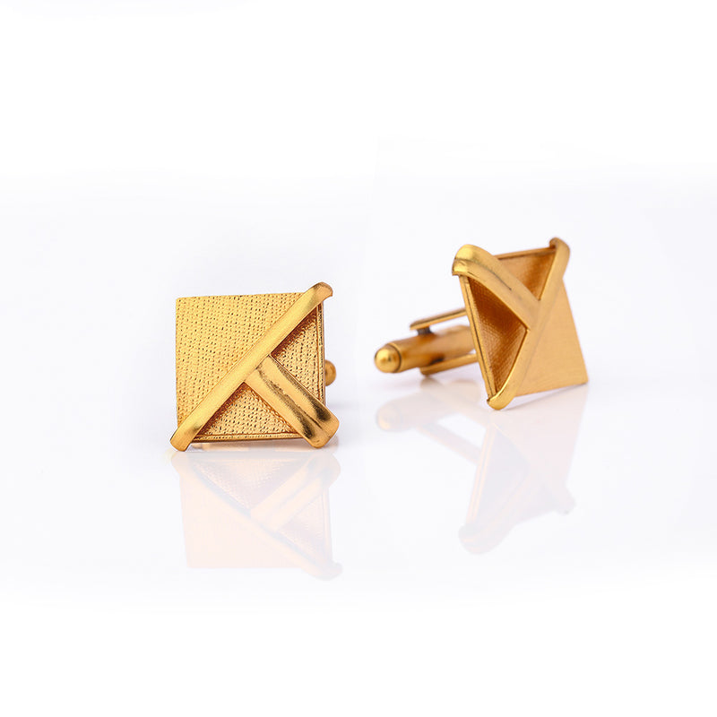 Gold Toned Kites Cuff Links