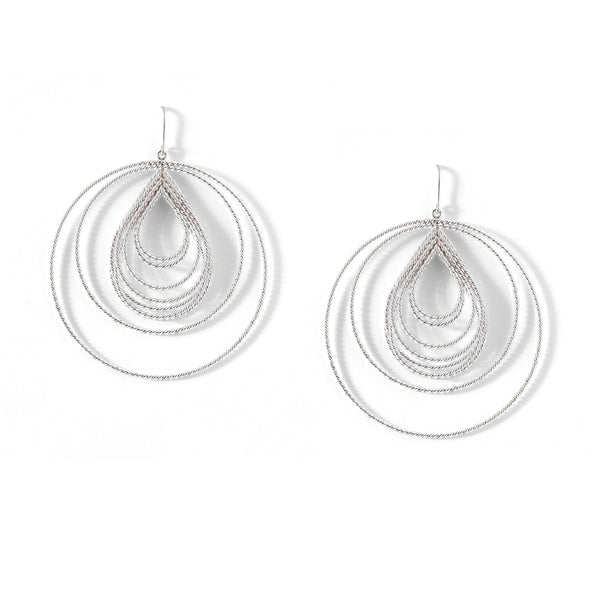 Nested hoops with the drop