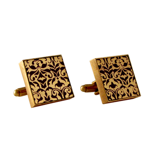 gold-square-printed-cuff-links