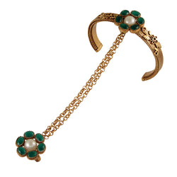 gold-hathphool-with-green-crystals-and-pearls