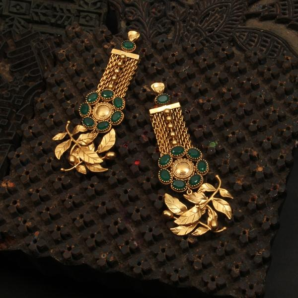 gold-rose-vine-mesh-earrings-with-crystals