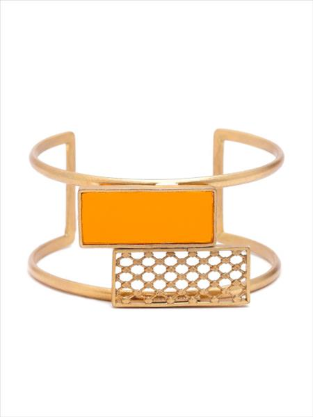 gold-&-amber-double-rectangle-cuff