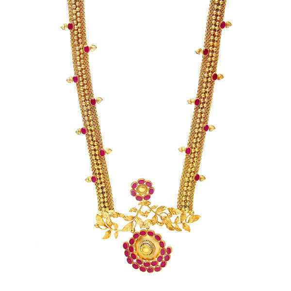 Multi Strand Gold Necklace