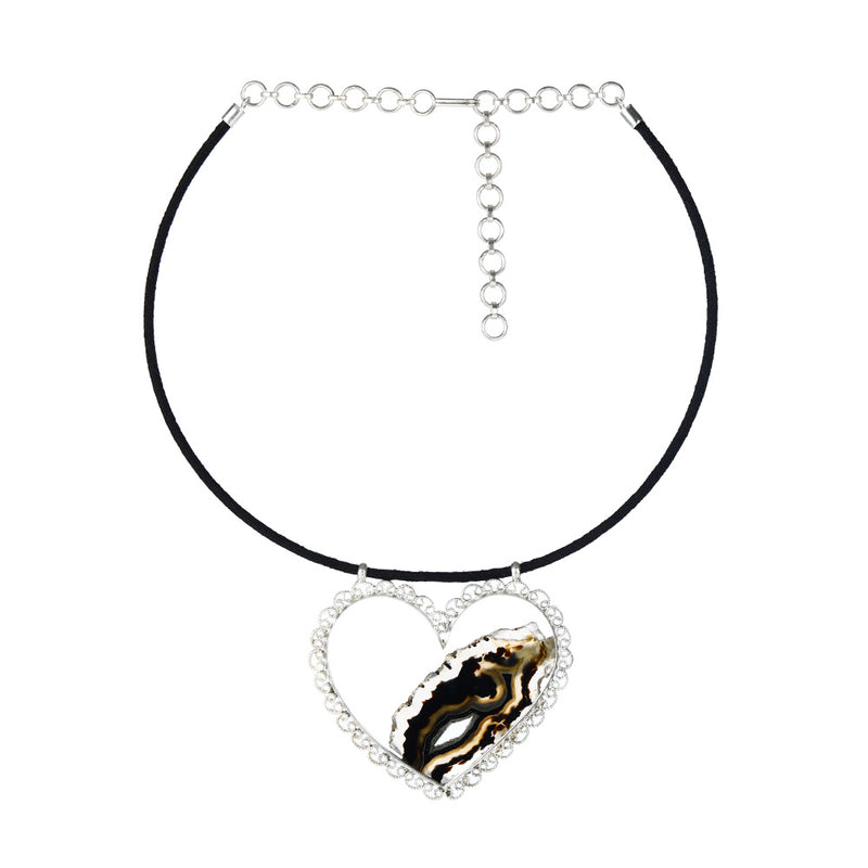 black-cord-necklace-with-sterling-silver-heart-pendant-and-marbled-agate-stone