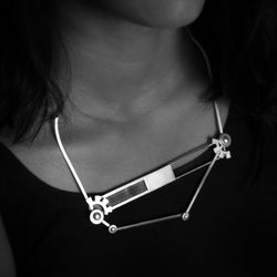 SILVER-TONED-ANGULAR-BAR-NECKLACE-WITH-HARDWARE-DETAILS