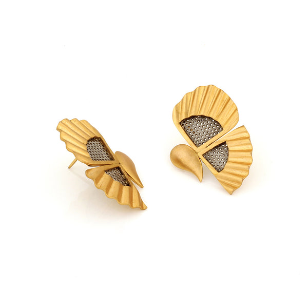 gold-toned-butterfly-stud-earrings-with-steel-details