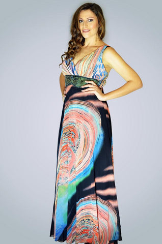 Zingfy Summer Psychedelic Charm Dress
