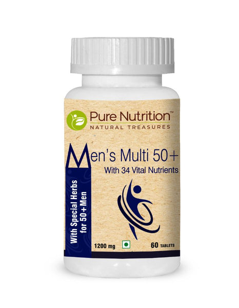Mens Multi 50+ (With Special Herbs for 50+ Men)