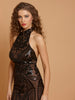 Zingfy Baroque Sequin Clubwear Dress