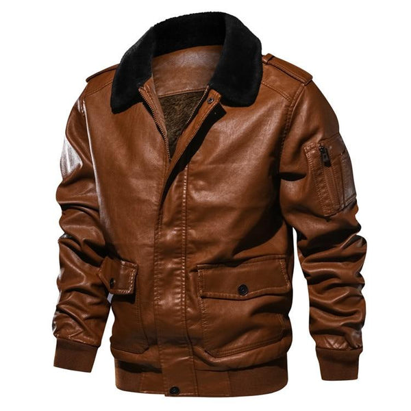 Heartson's Leather Bomber