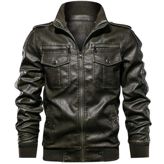 Pitstop Leather Jacket