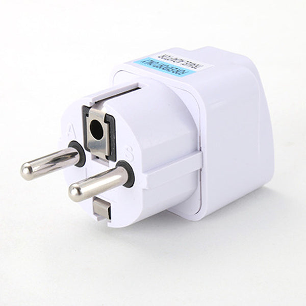 Universal UK & US  to EU Power Socket Plug Travel Charger Adaptor