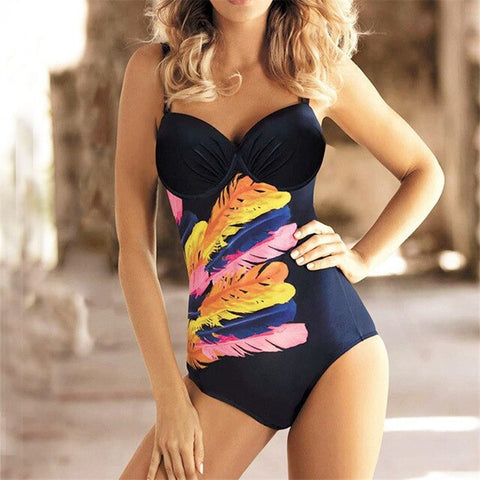Push Up Swimsuit One Piece
