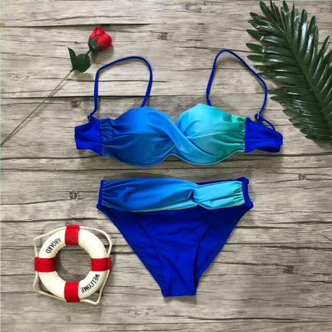 Two-Piece Push-up Swimsuit