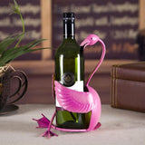 Flamingo Wine Bottle Holder (Limited Edition) - louonvine