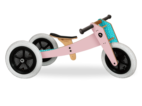 Wishbone Bike Pink 3in1