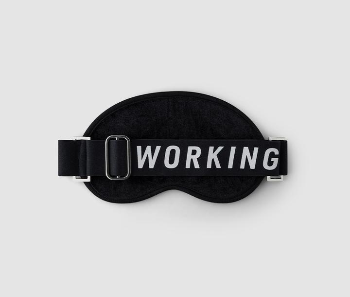 EYE MASK IN BLACK