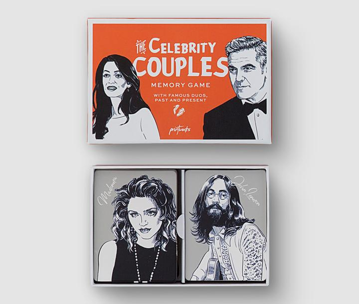 MEMORY GAME - CELEBRITY COUPLES