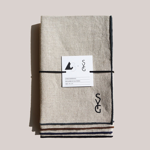 AS x SYG OATMEAL LINEN NAPKINS