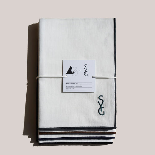 AS X SYG VALLEY MIX LINEN NAPKINS