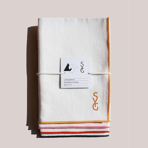 AS X SYG RAINBOW TWILL NAPKINS