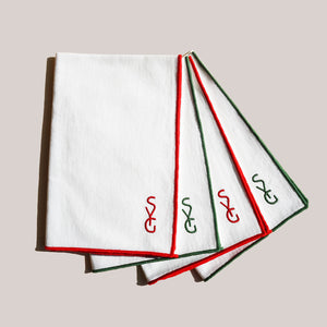 AS X SYG HOLIDAY TWILL NAPKINS