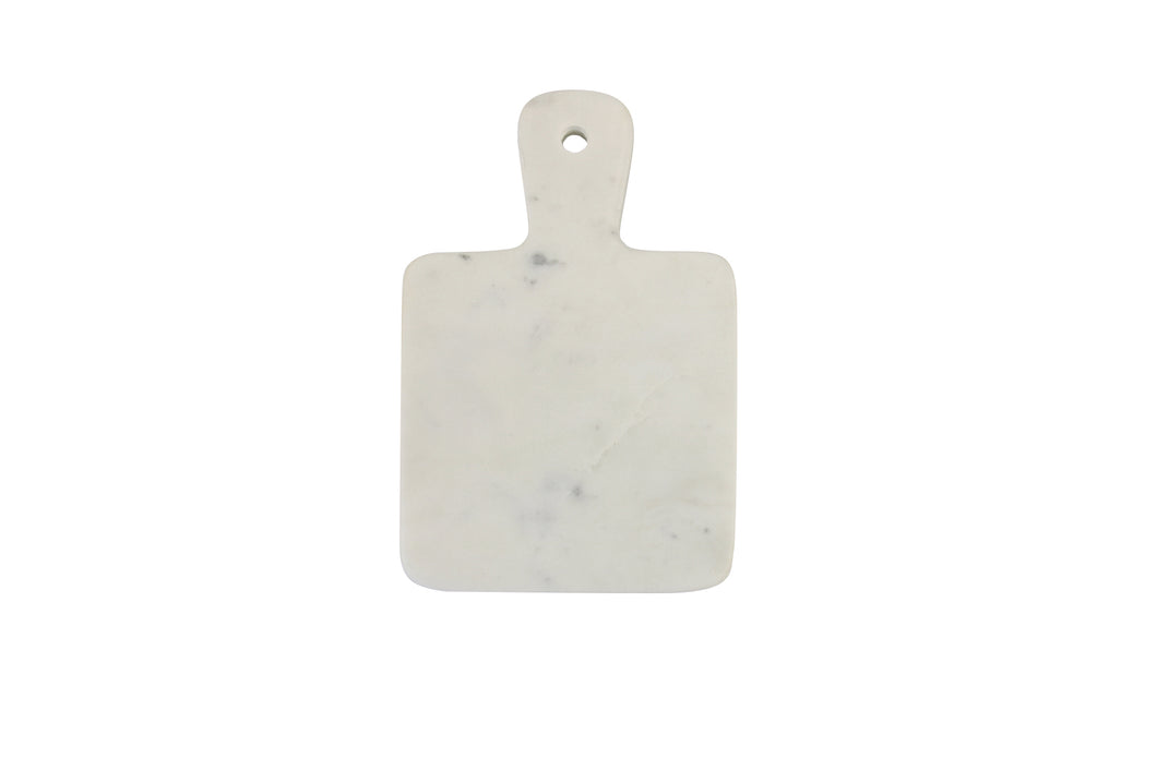 WHITE MARBLE MINI BOARD SQUARE