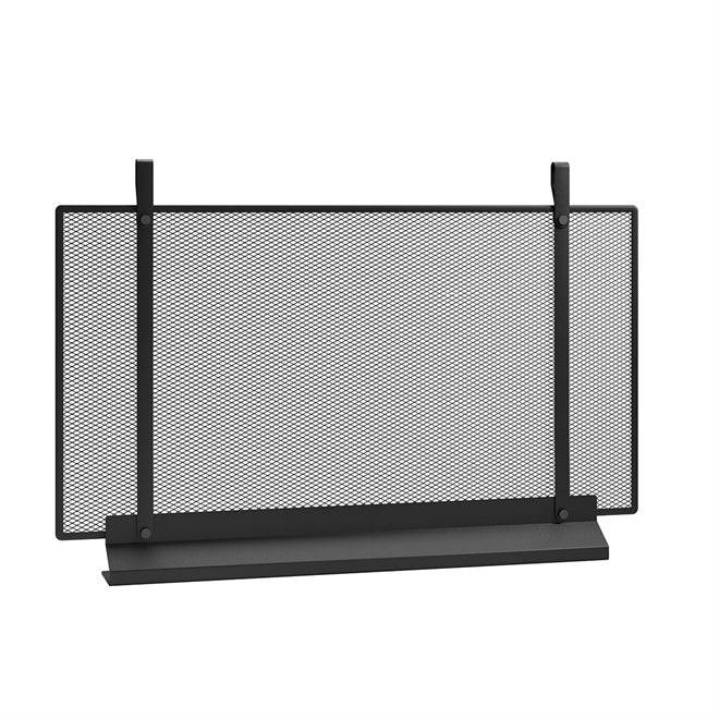 EMMA FIREPLACE SCREEN IN NOIR, LARGE