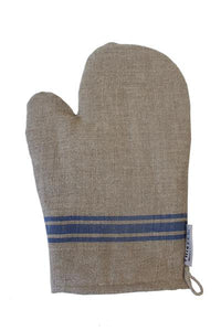 BLUE STRIPE OVEN MITT