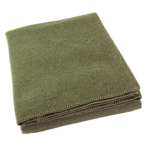 MOSS ALPINE WOOL BLANKET QUEEN